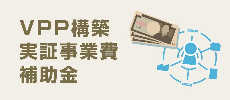 VPP構築実証事業費補助金