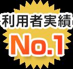 利用者実績No.1