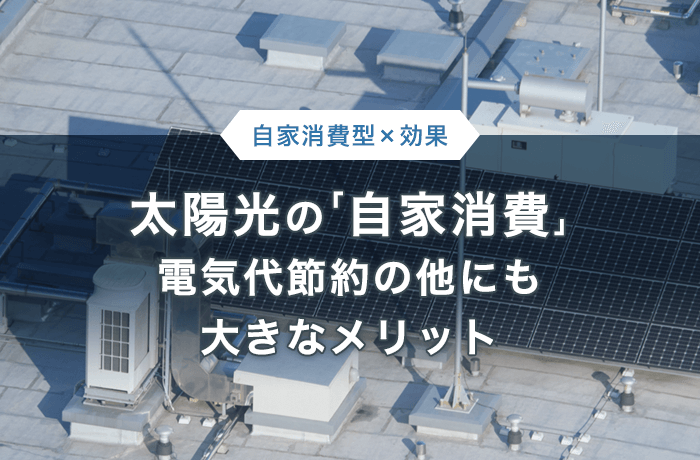 事業の電力を太陽光発電にする重大メリット