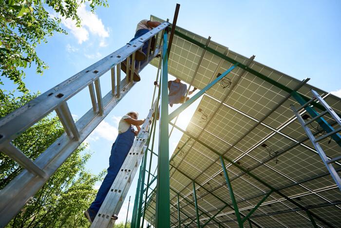 産業用太陽光発電の発電量を下げない方法
