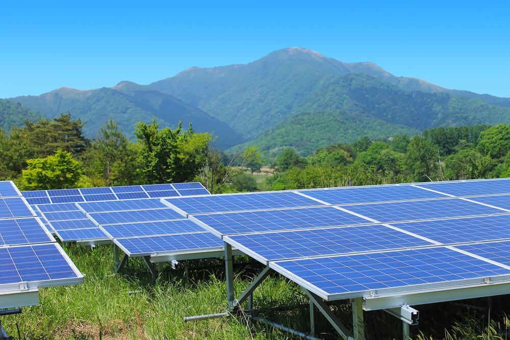 山林の太陽光のコスト