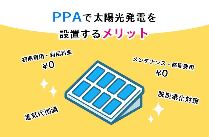 太陽光PPAのメリット